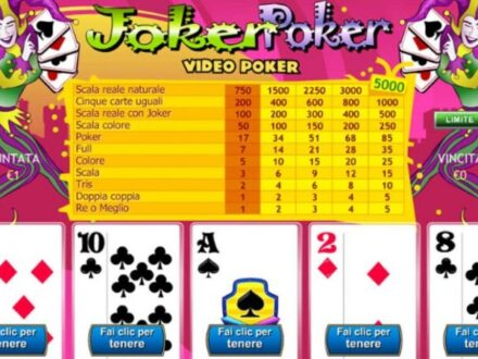 slot joker poker