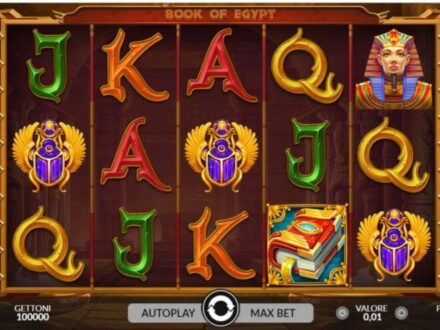 slot machine Book of Egypt